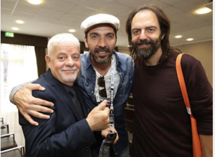 Mister Tognetti con Buffon e Marcore'