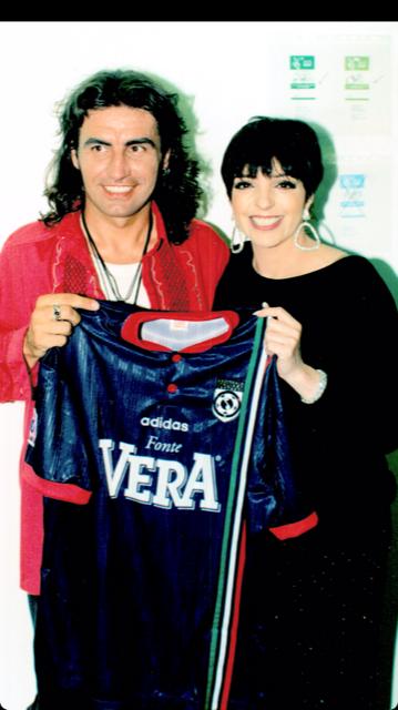 Il grande Ligabue con Liza Minelli