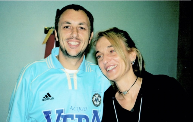 Neffa con Daniela Turchetti (ufficio stampa NiC)